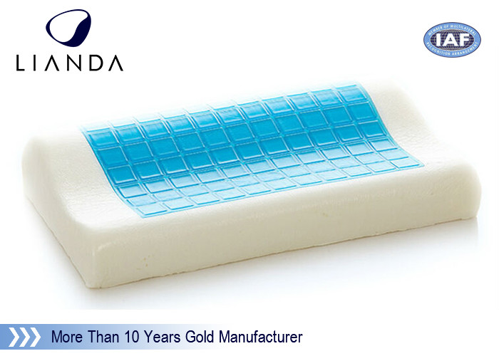 Super Cooling Gel Pillow , Fashionable memory foam gel pillow for Comfortable Sleeping