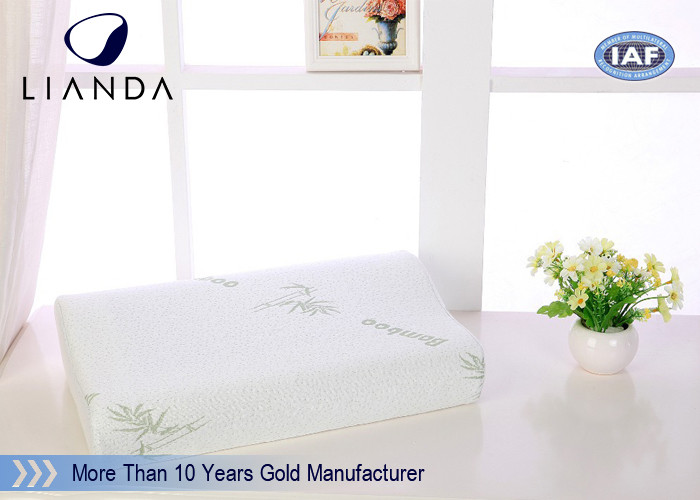 Luxury contour bed cooling gel memory foam pillow Lightweight