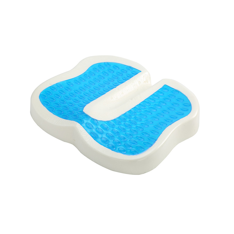 Coccyx Orthopedic Memory Foam Cushion With Cooling Gel For Office Chair