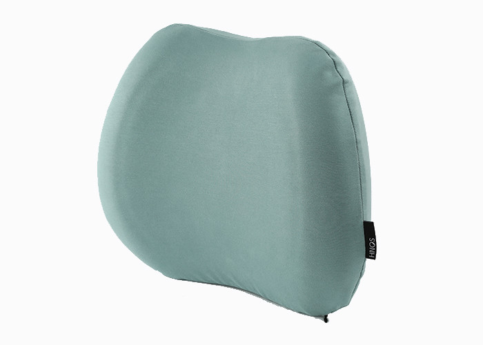Contour Memory Foam Lumbar Support Back Cushion For Soothe Back Improve Posture